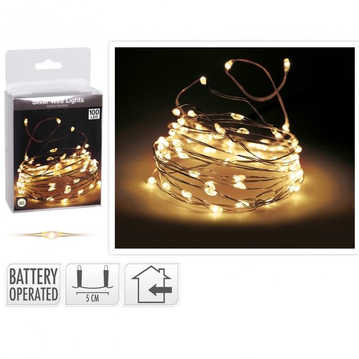 <h4>Kerst LED draad 100lmp</h4>