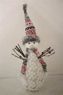 <h4>COLK34 SNOWMAN WHITE</h4>