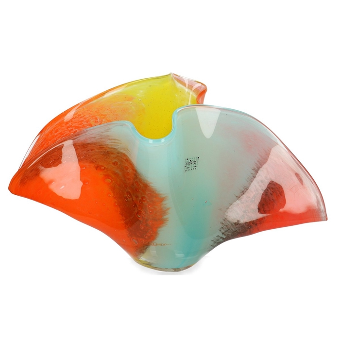 <h4>Glas Fidrio Passion vaas wave d40*24cm</h4>