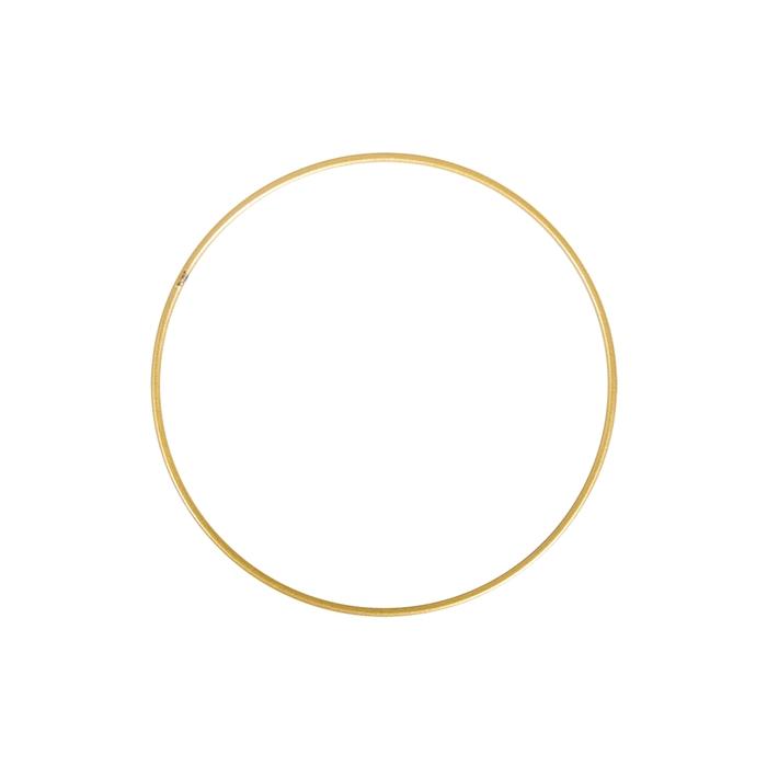 <h4>METAL RING ROUND SINGLE 015CM GOLD</h4>