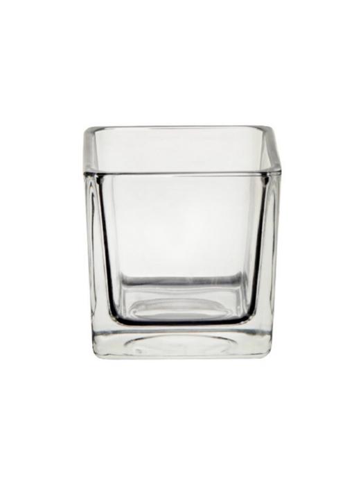 <h4>DF870168200 - Pot square Abbey 10x10x10 clear</h4>