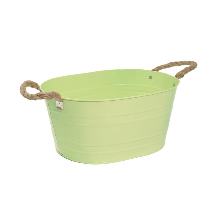 <h4>Zinc Rib pot ov. 30.5*22.5*14cm</h4>