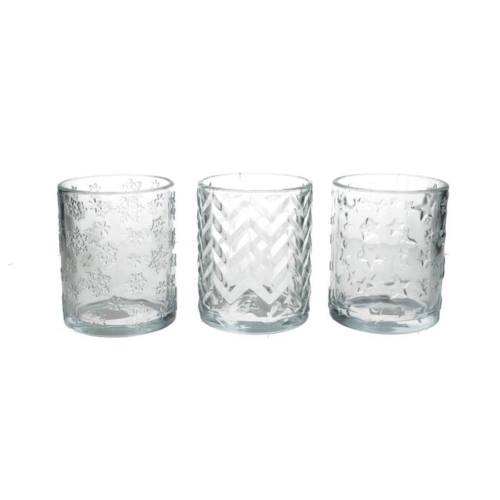 <h4>Candlelight Glass Christmas d10*12.5cm</h4>