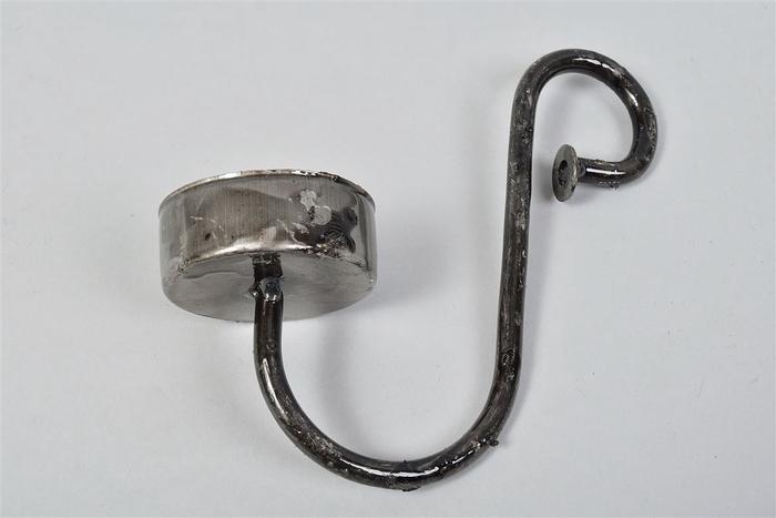 <h4>Kaarshanger T.light Steel 15x6x16cm</h4>
