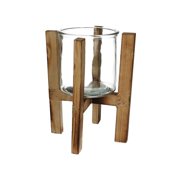 <h4>Glas Pot d12*12cm+frame</h4>