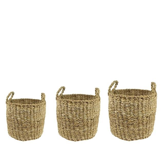 <h4>Baskets Joris pot S/3*d33*31cm</h4>