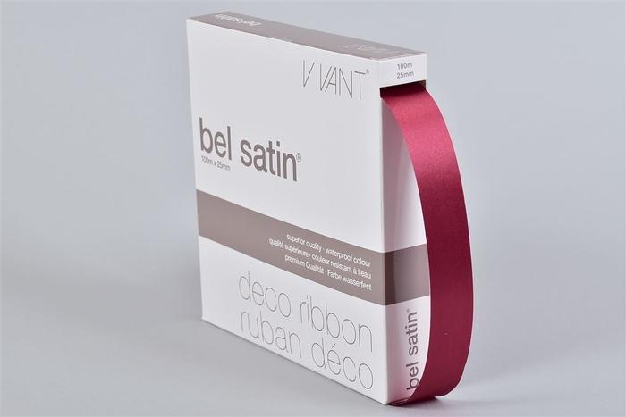 <h4>Lint Satin 21 Bordeaux 100m X 25mm P/1</h4>