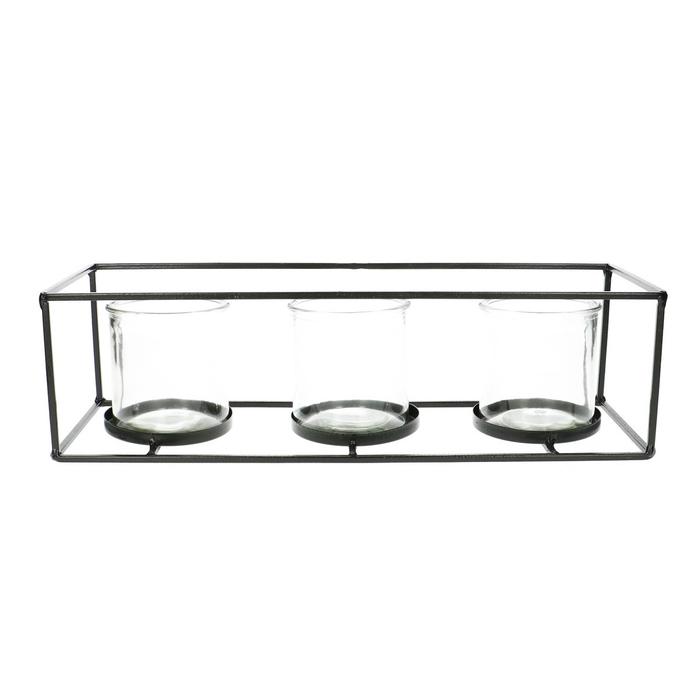 <h4>Glas Frame+3pot d08*8cm</h4>