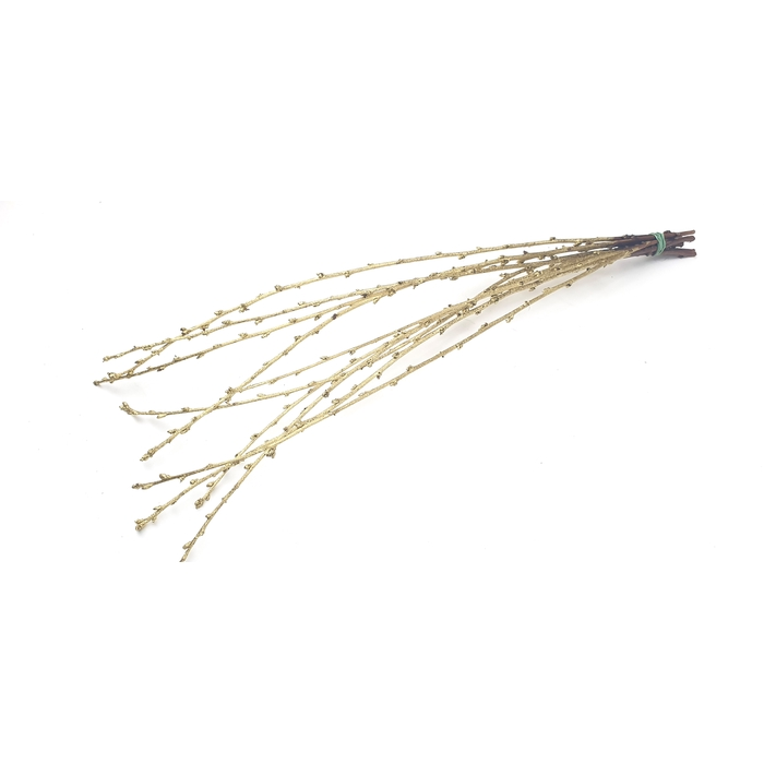 <h4>Avium branches lgt 40cm 10 stems per bunch Gold</h4>