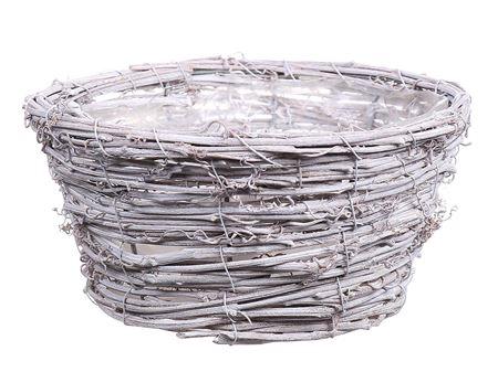 <h4>Basket Timbo d20xh10 white</h4>