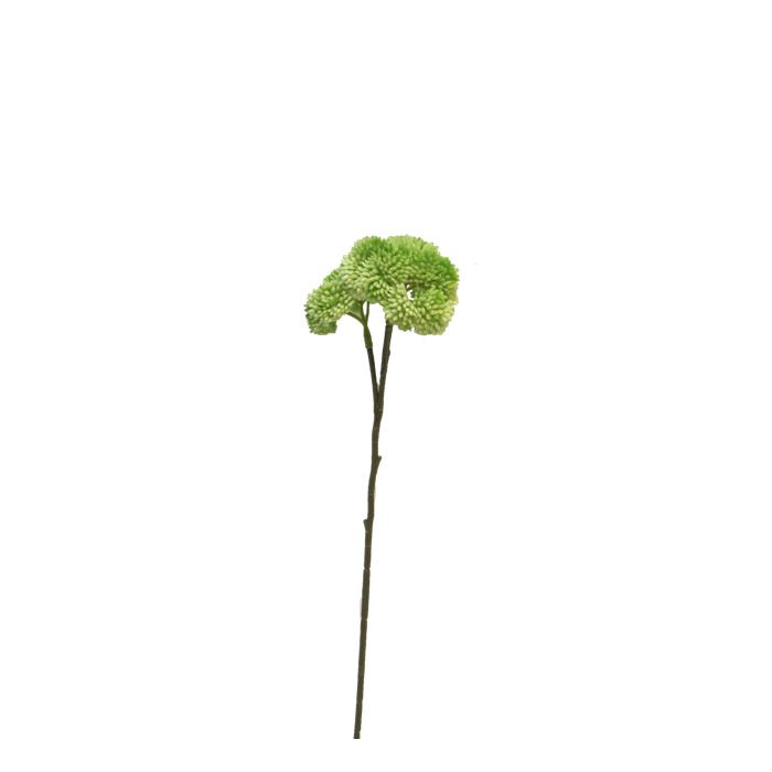 <h4>SILK FLOWERS - SEDUM FLOWER GREEN 46CM</h4>