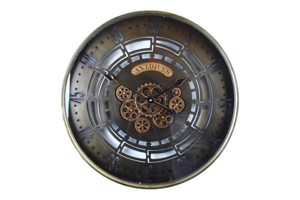 <h4>Clock Gear Ø60cm Bronze 83741</h4>