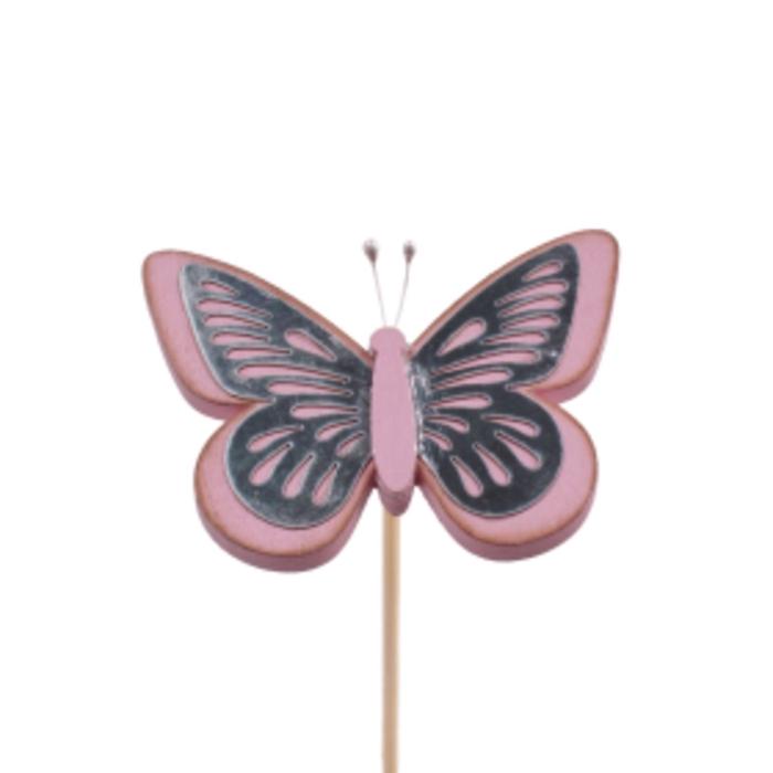 <h4>Bijsteker 50cm Vlinder Tess 9cm</h4>