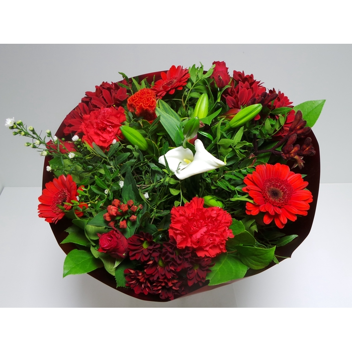 <h4>Bouquet Biedermeier Large Red</h4>