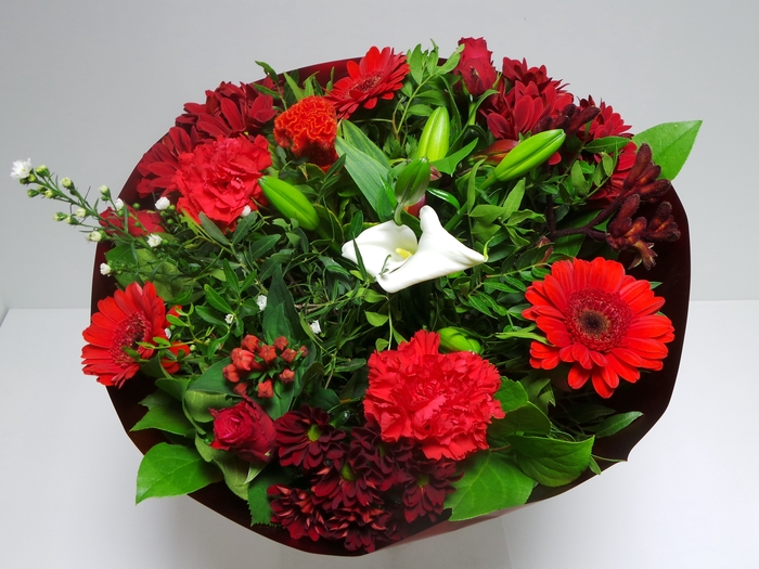 <h4>Bouquet Biedermeier Large Red</h4>