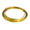 Aluminium wire gold - 100gr (12 mtr)