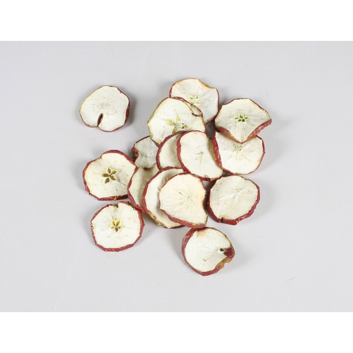 <h4>Apple Slices 250gram poly Natural Red</h4>