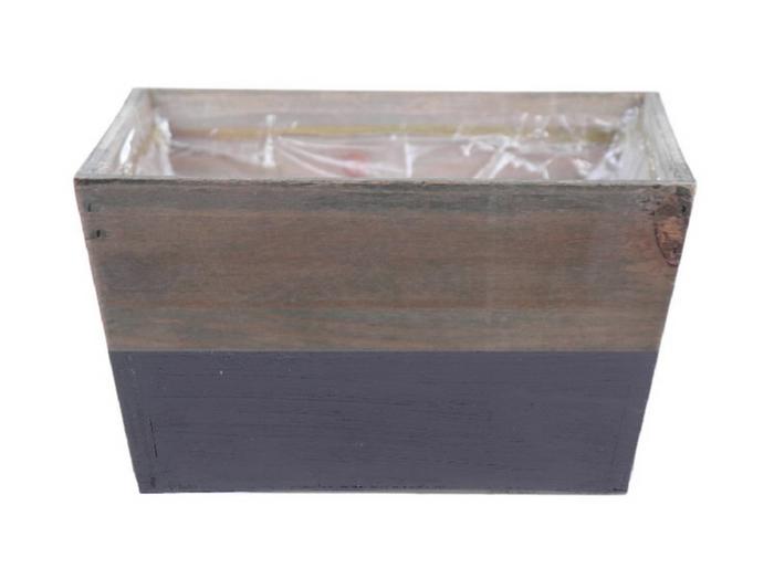<h4>DF662680400 - Planter Argo3 18x18x10 grey/natural</h4>