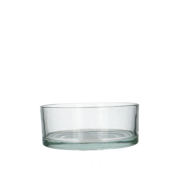 <h4>Glas Schaal rond d19*8cm</h4>
