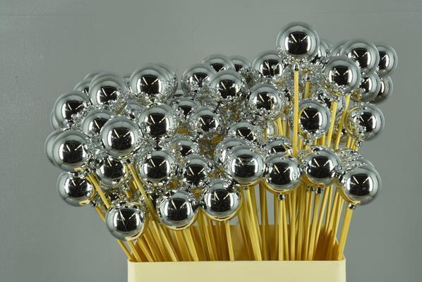 <h4>Stick Ball C. Ø4 Silver Shiny</h4>