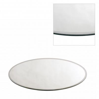 <h4>Glas kleur Bord spiegel rond d40cm</h4>