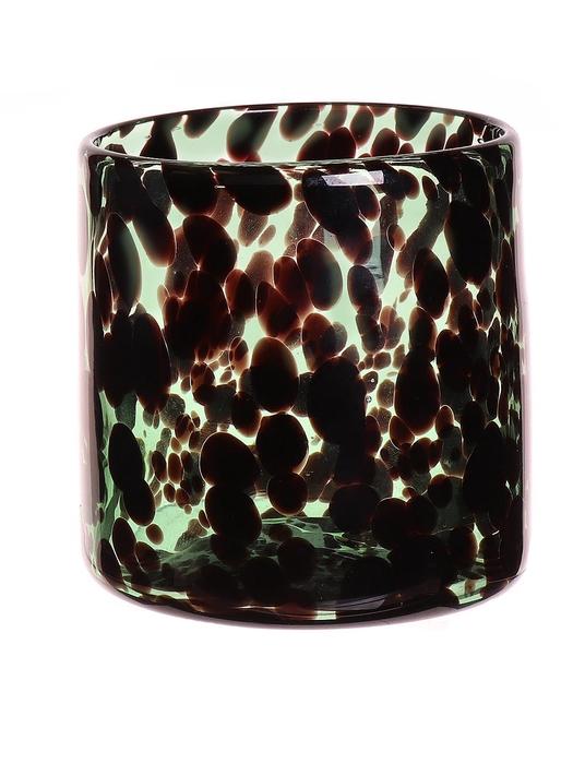 <h4>DF663480200 - Candleholder Jane d12xh12.3 green</h4>
