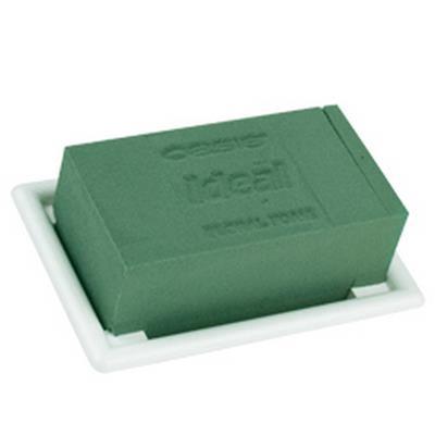 <h4>Oasis support décoration table mini 13x9cm blanc</h4>