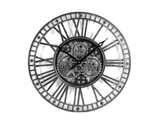 <h4>Clock Gear Open Ø90cm D.grey</h4>