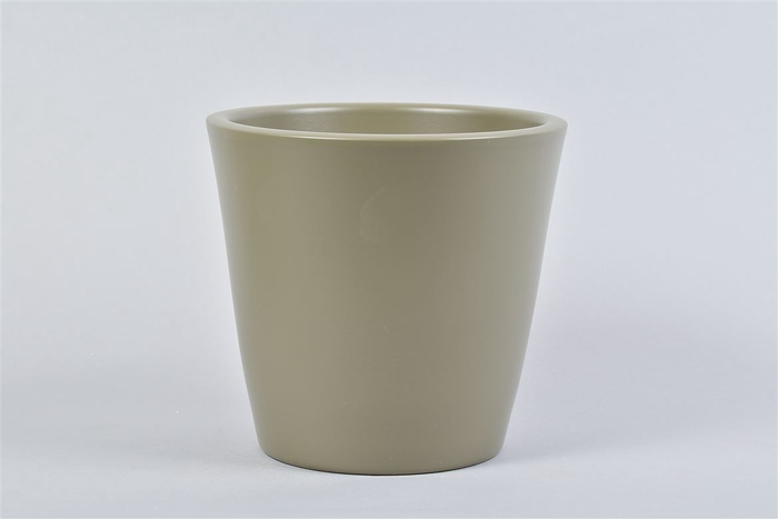 <h4>Vinci Legergroen Pot Container 18x16cm</h4>