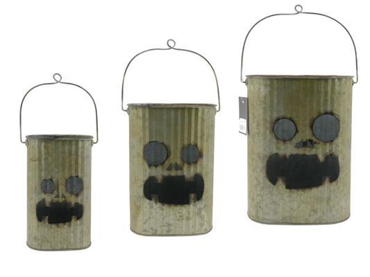 <h4>Bucket Zinc Haloweens/3 Ø23x32</h4>
