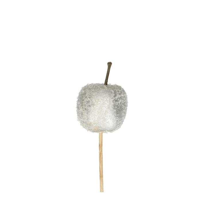 <h4>Christmas sticks 10cm Apple+snow 3.5cm</h4>