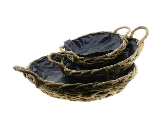 <h4>Basket Waterhyac.s/3 Ø50x10cm</h4>