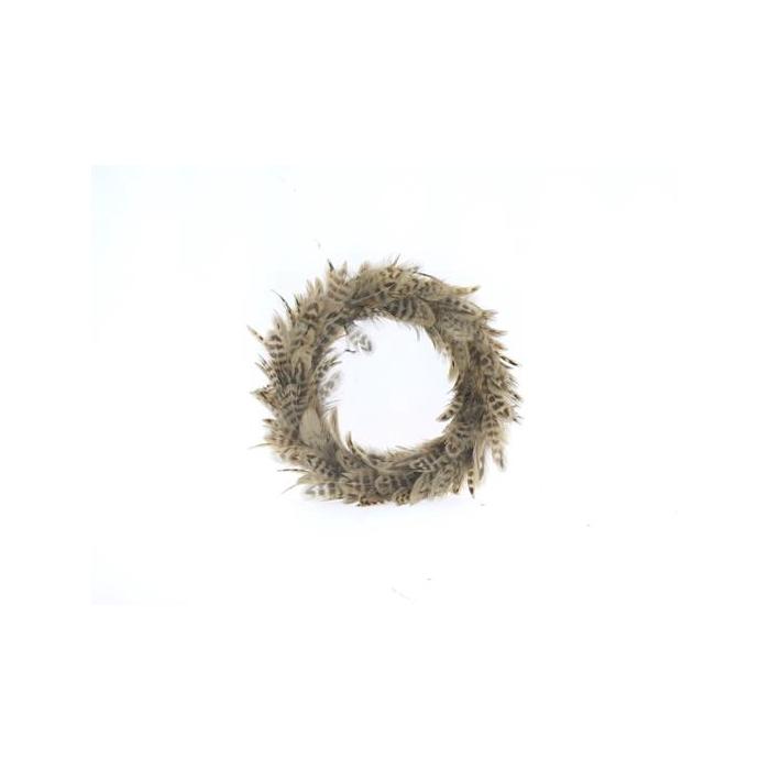 <h4>Wreath Feather Ø20cm 55601</h4>