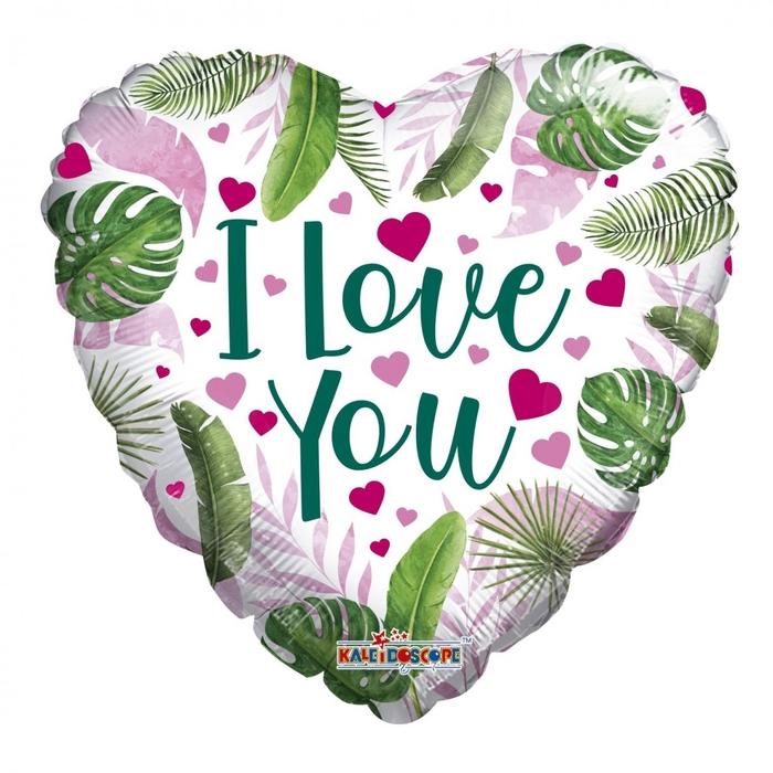 <h4>Liefde Ballon Eco Love You 45cm</h4>