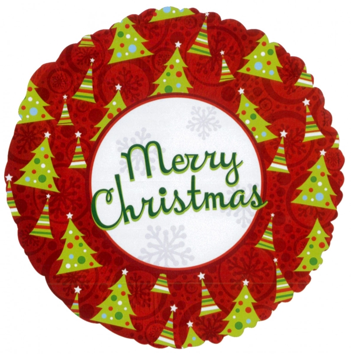 <h4>Christmas Balloon Christmas tree 45cm</h4>