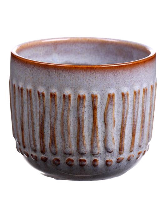 <h4>DF560423625 - Pot Avella2 d10.5xh9 grey</h4>