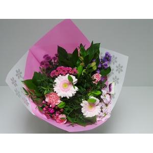 Bouquet Biedermeier Medium Pink