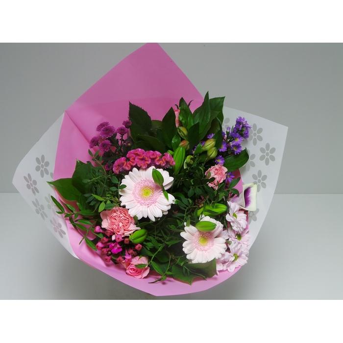 <h4>Bouquet Biedermeier Medium Pink</h4>
