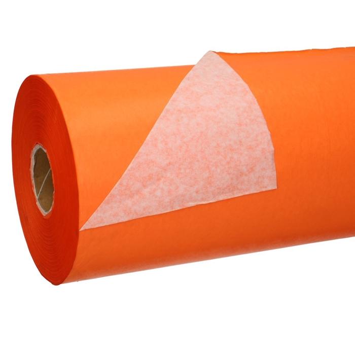 <h4>Papier Rol 75cm 40g 10kg Wit/Oranje</h4>