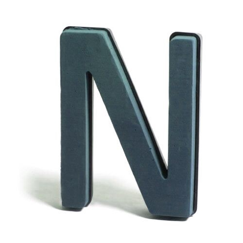 <h4>Steekschuim Basic Letter N 29cm</h4>