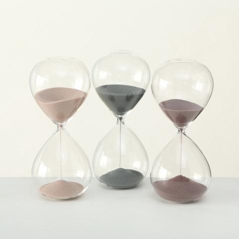 <h4>Deco Glas Zandloper H24</h4>