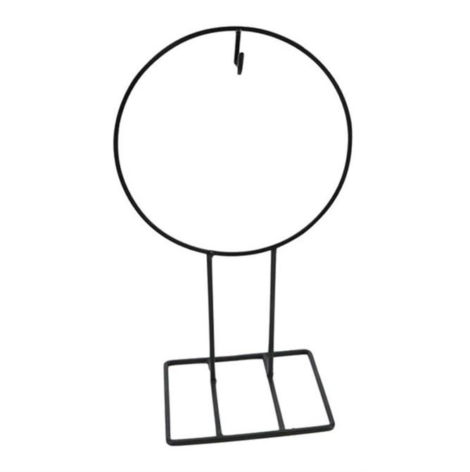 <h4>Bloemisterij Ijzeren ring/voet h. d26*45cm</h4>