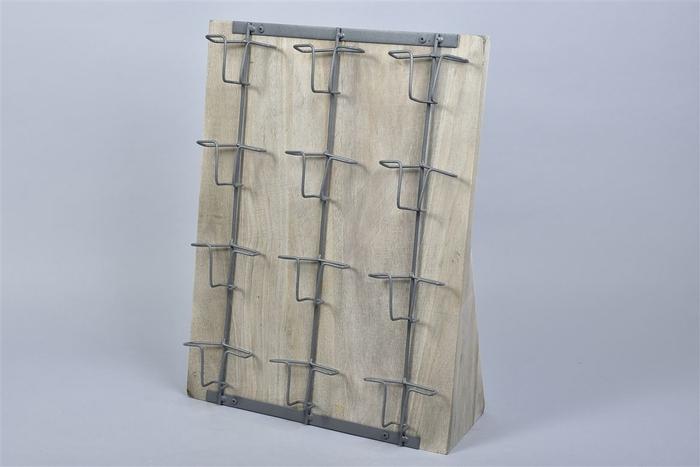 <h4>Deco Rek Voor Houten Hartjes 49x37cm</h4>