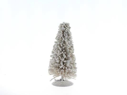 <h4>Tree X-mas Rattan 25cm White</h4>