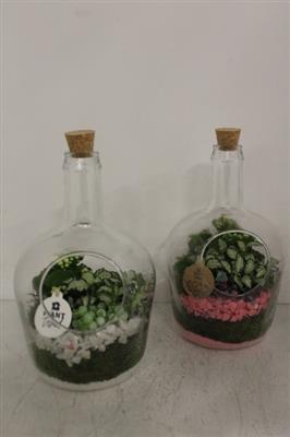 <h4>7653 Glasfles + Kurkdop</h4>