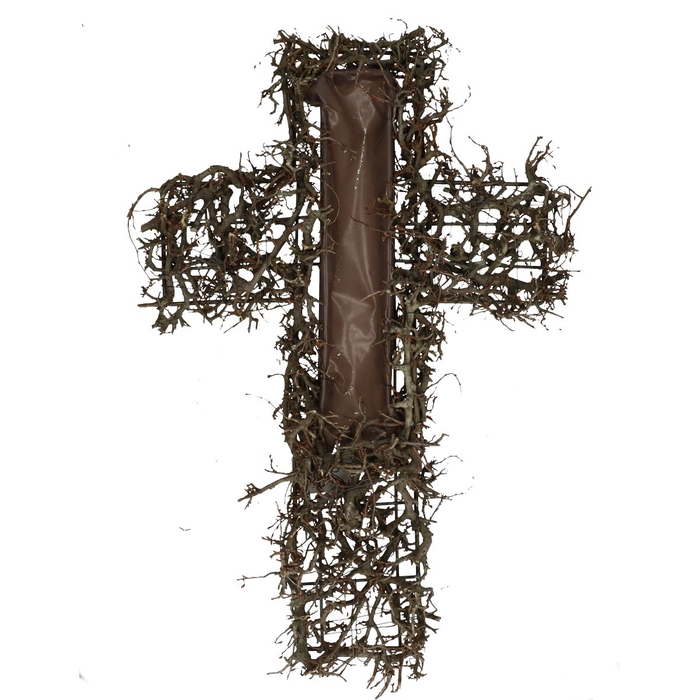 <h4>All Saints Bonsai cross 40*58cm</h4>