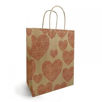 <h4>Tassen Papier d19/8*21cm Love</h4>