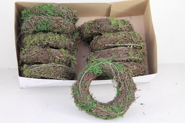 <h4>Wreath Salim 20cm Natural+moss</h4>
