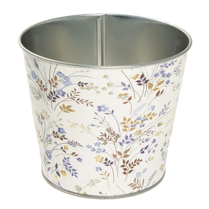 <h4>Zink Botanical pot d16*14cm</h4>