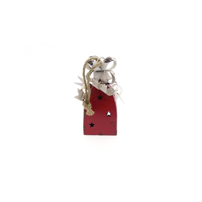 <h4>Bell Hanging Mtl 10x10x24 Red</h4>
